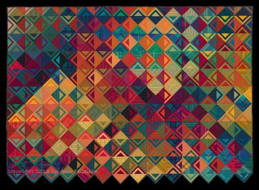 Basket Weave II - See Saw, c. 2012 by Ann Feitelson