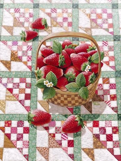 Καλάθι με φράουλες